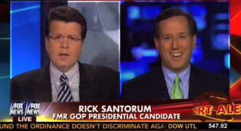 Cavuto and Santorum