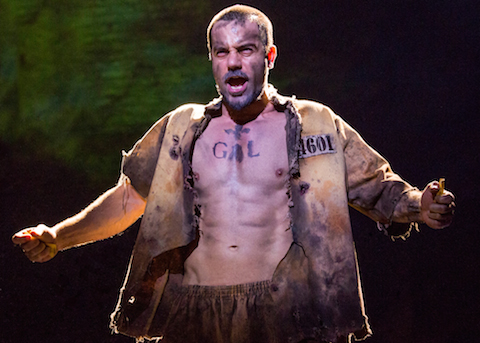 17. Ramin Karimloo as Jean Valjean.  Photo by Matthew Murphy-Edit