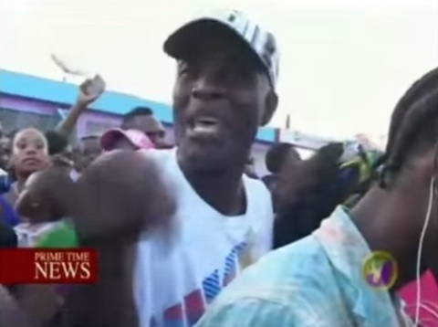 Anti-gay march in jamaica