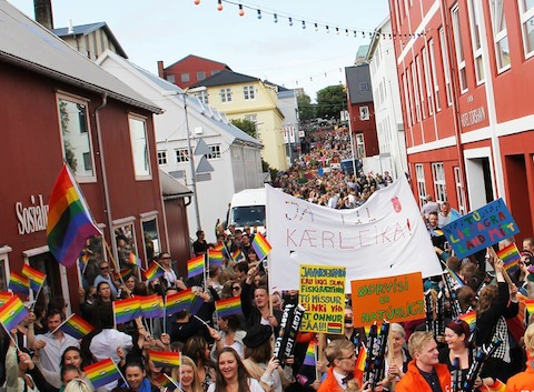 Faroe islands pride 2014