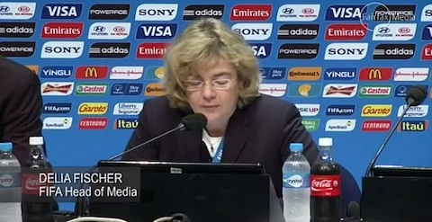 Delia fischer FIFA head of media