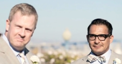 Gay slurs at california wedding