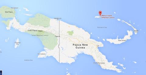 Manus island PNG