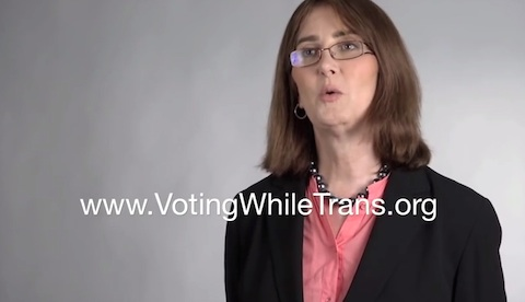 Voting laws transgender people