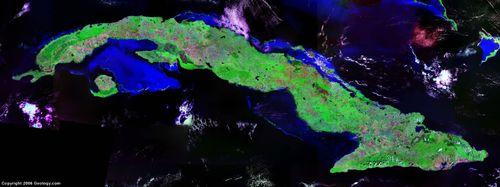 Satellite-image-of-cuba