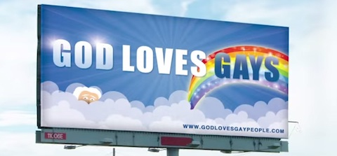 God loves gays