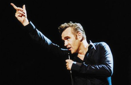 An angry Morrissey reportedly slammed Madonna at his concert last night in ...