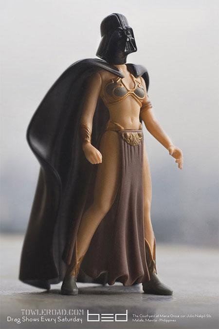 Darth Vader és Leia egy testben