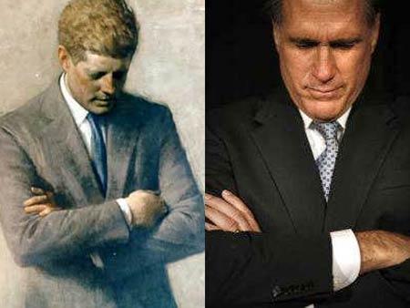 mitt romney muppet. Mitt Romney#39;s JFK Photo Op:
