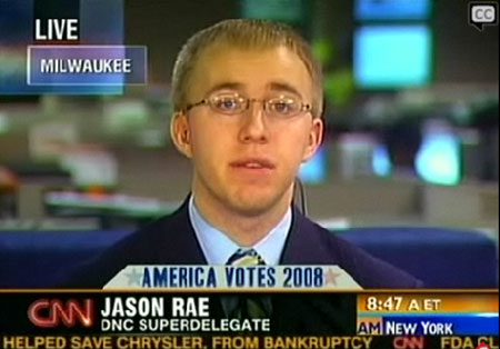 CNN anchor John Roberts talked to Jason Rae, the nation's youngest ...