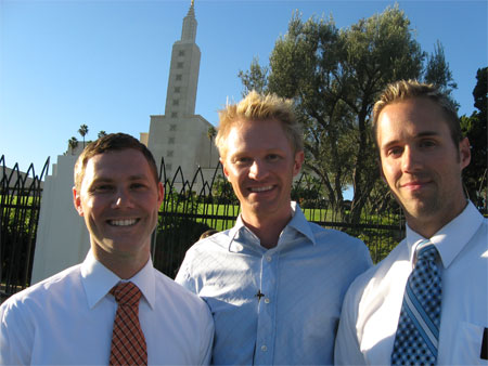Gay Mormons protesting: