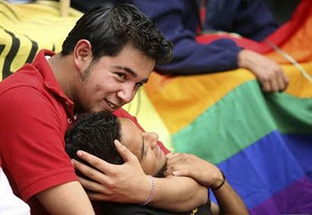 Mexico City legalized same-sex civil unions on Thursday as activists rallied ...