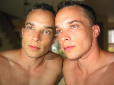 I think many gay men have a fascination with identical twins ...